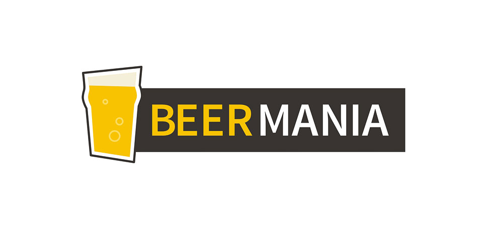 Logotyp dla sklepu z piwem Beermania