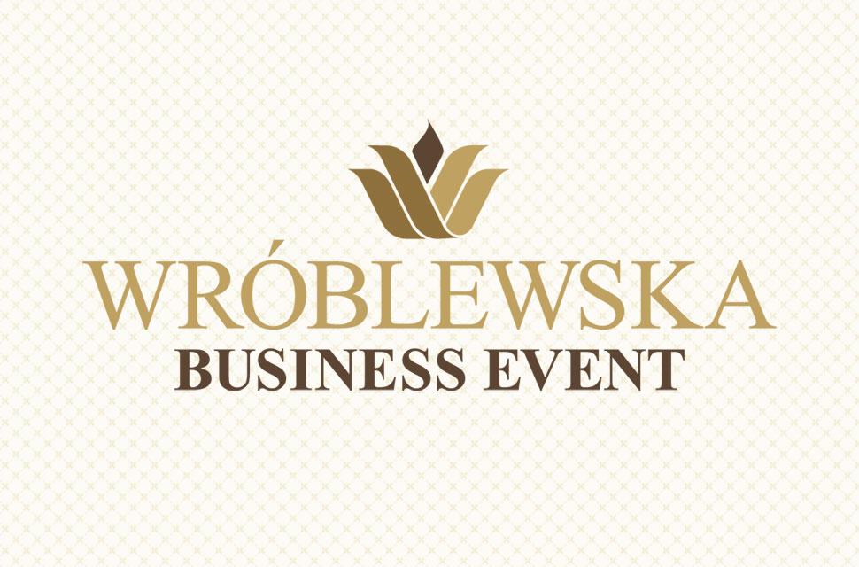 Logo - projekt dla firmy Wróblewska Bussiness Event