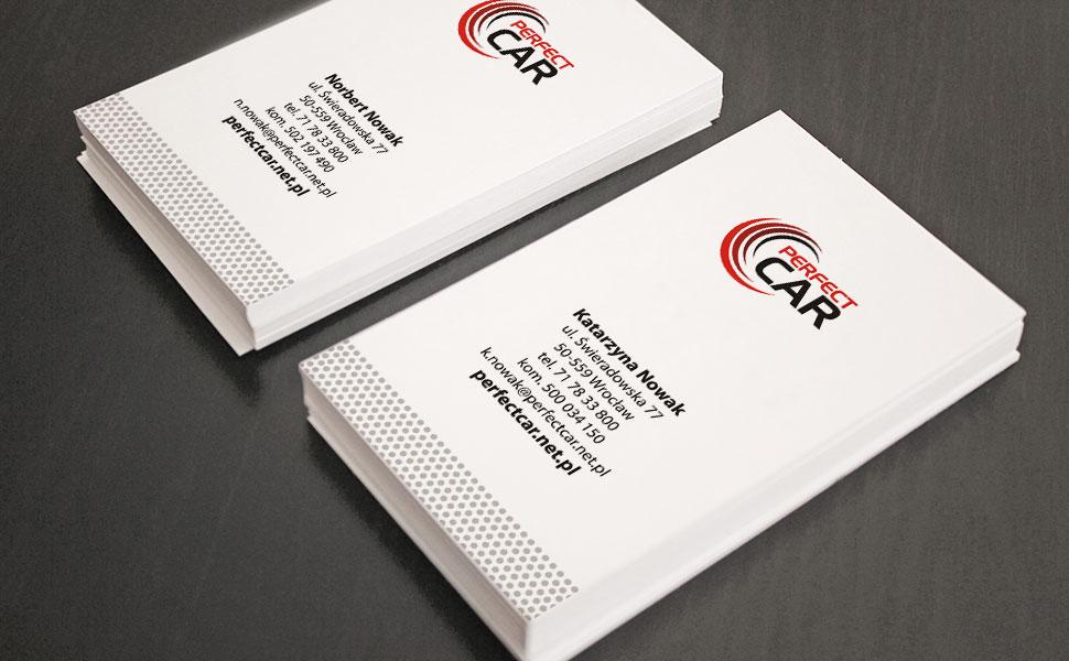 Wizytówki dla firmy Perfect Card