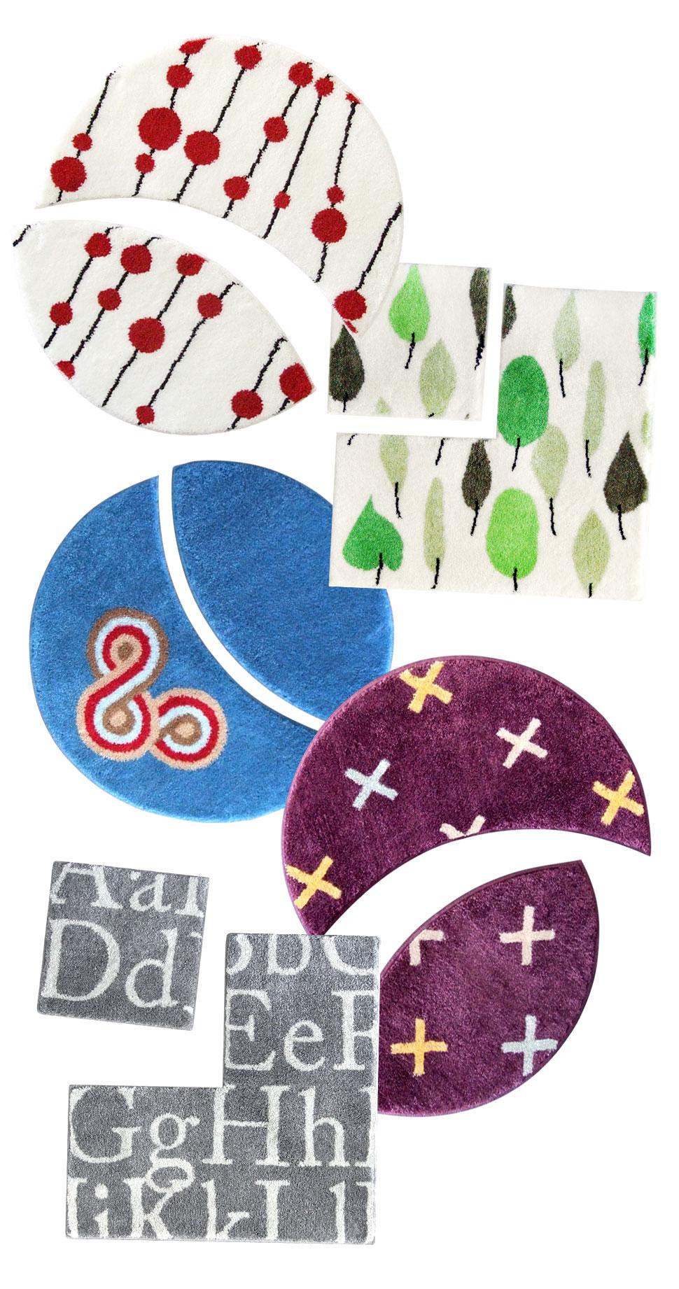 Dywaniki Soft Plus - wzory