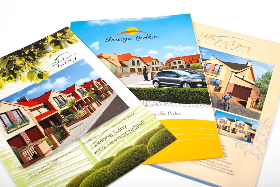 foldery reklamowe dla As-Hajto Deweloper