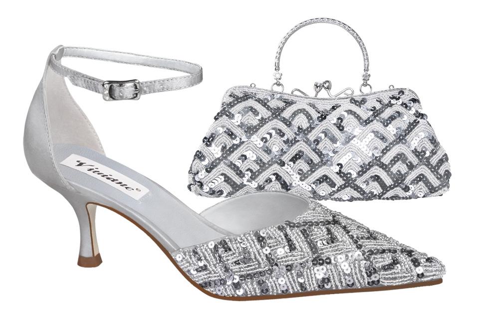 Zdjęcie katalogowe - damskie buty i torebka.