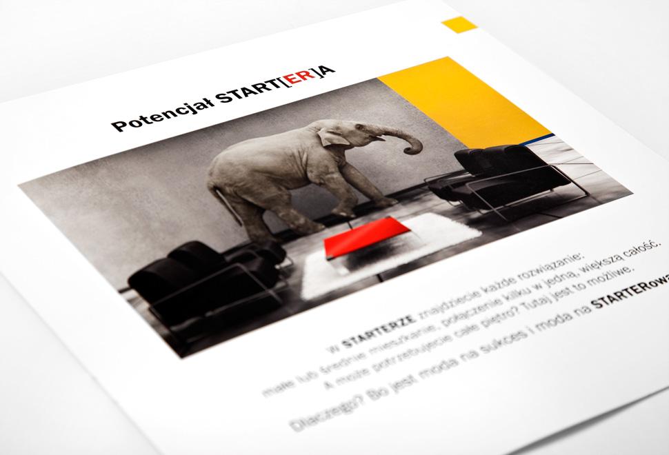 Folder wizerunkowy Starter