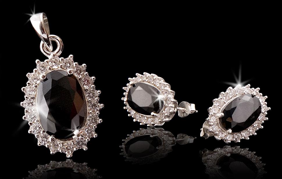 Fotografia katalogowa srebrnej biżuterii