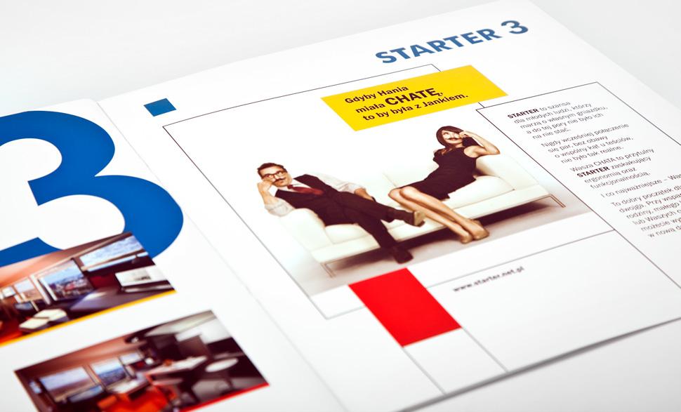 Folder reklamowy dla Startera Wrocław