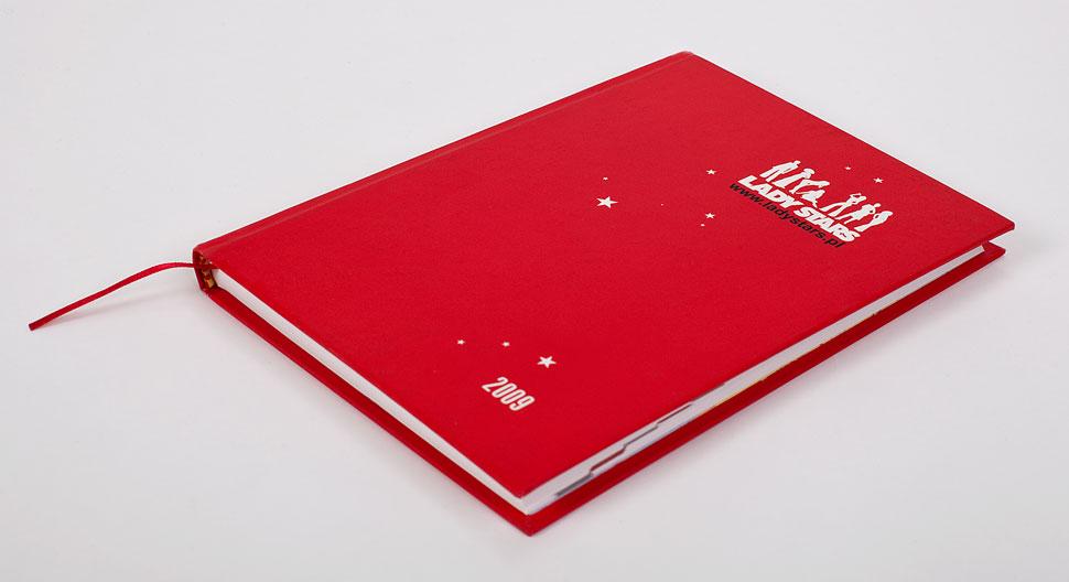 Okładka kalendarza książkowego.