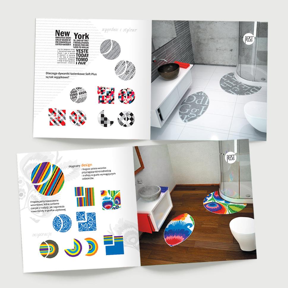 Katalog produktowy Soft Plus - przykładowe strony