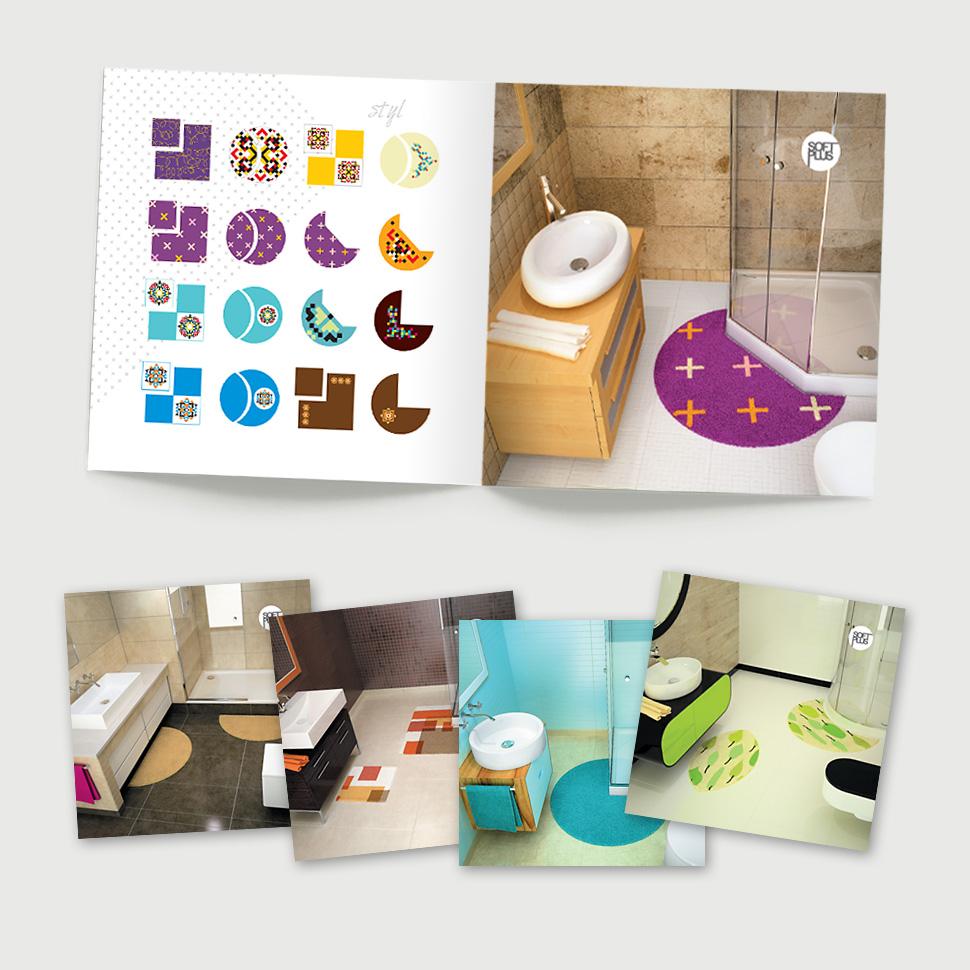Katalog produktowy - wizualizacje wnętrz łazienek