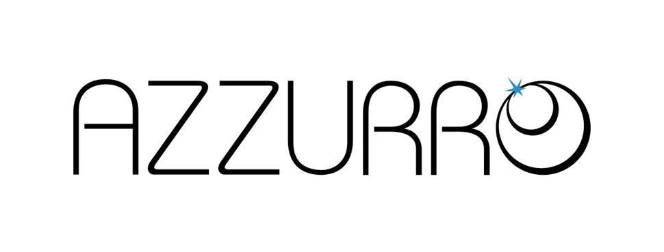 Projekt logo Azzurro - wersja jasna.