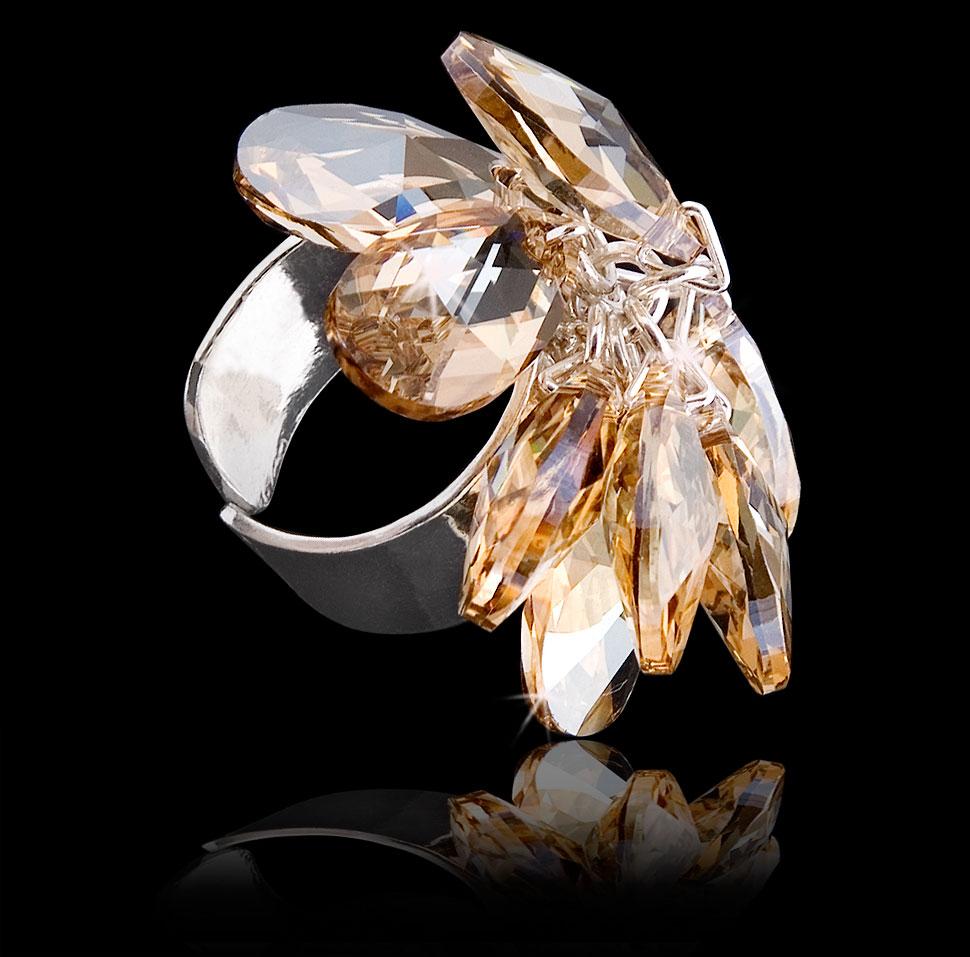 Zdjęcie katalogowe srebrnego pierścionka