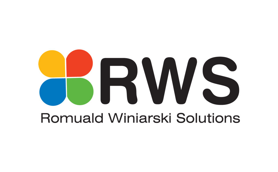 Projekt logo dla firmy RWS