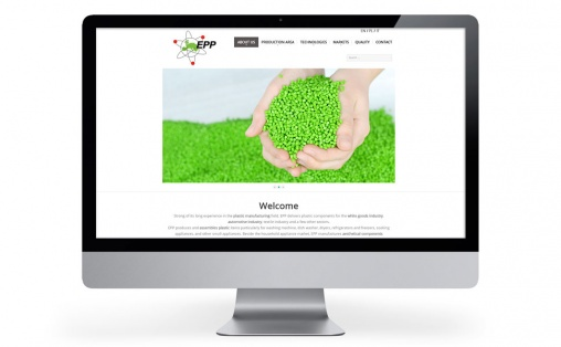 Projekt strony internetowej dla EPP Poland